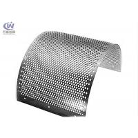 Buy cheap Stainless Steel Round Hole Sieves Perforated Metal Sheet Wire Mesh Punching Plate from wholesalers