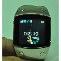 Buy cheap Black / Brown K12 Quad band Single SIM with FM radio, Bluetooth Wrist Watch Phone from wholesalers