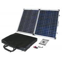 Buy cheap 60W Poly Portable Folding Solar Panels Anodized Aluminum Alloy Frame from wholesalers