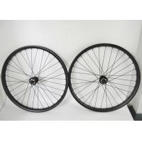 Buy cheap 29 Inch Tubeless Carbon MTB Wheels Matte / Glossy Rim Finish EN14781 Standard from wholesalers