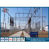 Buy cheap Galvanized Electric Substation Steel Structures for Power Transformer Substation Industry from wholesalers