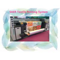 Buy cheap Large Format Fabric Epson Color Printer Automatic 3.5kw Heater Power 12 Month Warranty from wholesalers