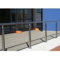 Buy cheap 4mm Ss Wire Building Railing , Stainless Steel Cable Balustrade Polished Surface Finish from wholesalers