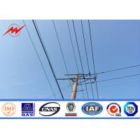 Buy cheap High Voltage Electrical Power Pole Telescoping Pole Customized Powdered Painting from wholesalers