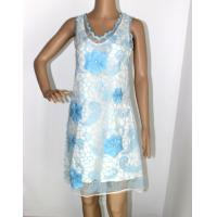 Buy cheap V neck sleeveless ladies evening dresses with polyster from wholesalers