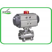 Buy cheap Complete Encapsulation Sanitary Ball Valves Customized For Special Environments from wholesalers