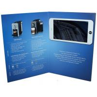 Buy cheap Free sample limited Video in Folder Factory Supply Custom 10 inch Touch Screen  wifi Video Brochure With Your APP from wholesalers
