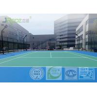 Buy cheap Environmental Acrylic Sports Flooring For Basketball / Badminton / Volleyball from wholesalers