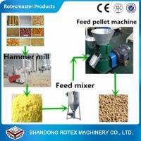 Buy cheap Small Scale Poultry Feed Small Pellet Mill Animal Feed Pellet Production Line from wholesalers