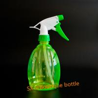 Buy cheap Cheap garden custom350ml clear boston round   mini trigger top PET bottles from wholesalers