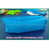 Buy cheap Blue Beach Sleeping Bag Lazy Air Couch WIth Pocket To Put Phone And Junk from wholesalers