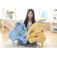 Buy cheap Eco Friendly Fabric Stuffed Elephant Toy , Cuddly Elephant Soft Toy Up To 90cm product