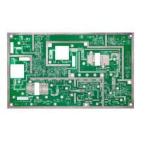 Buy cheap 4 Layer Rogers PCB for Microwave Electronic Product With HASL from wholesalers