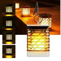 Buy cheap Roll over image to zoom in Solar Powered 75 LED Flame Effect Hanging Lantern Light Outdoor Waterproof Garden Lawn Tree from wholesalers