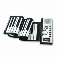 Buy cheap Roll up 49-key Piano with 4AA Batteries Power Supply or 6V DC Adapter from wholesalers