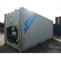 Buy cheap Warehousing Second Hand 20ft Reefer Container Payload 26950kg from wholesalers