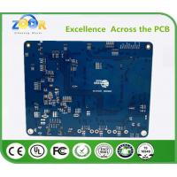 Buy cheap PCB 6 layer lead - free spray  FR4 tin circuit board industrial semiconductor laser high - frequency circuit board 1.6MM from wholesalers