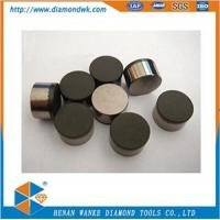 China PDC cutters for Fixed Cutter Drill Bit PDC Cutter Inserts pdc@diamondwk.com on sale