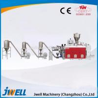 Buy cheap PP/PE pelletizing extrusion line/production line/extruder machine from wholesalers