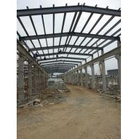 Buy cheap Industrial Structural Steel Plant , Professional Fabrication Steel Structure product