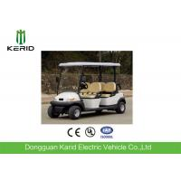 Buy cheap CE Certificate Fuel Type Electric Golf Carts White Model 4 Passengers Cheap Golf Buggy For Sale from wholesalers