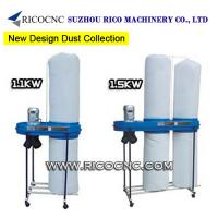 Buy cheap Portable 1.1KW 1.5KW Woodworking Industrial Dust Extractors Machinery for Woodworkers Dust Collection from wholesalers