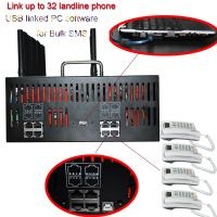 Buy cheap 8 port 32 SIM/16 port sim64/32 port sim128 FWT  of GSM gateway for bulk SMS machine & GOIP VOIP IMEI changeable from wholesalers