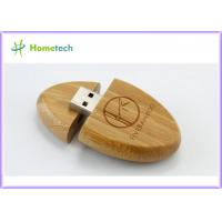 Buy cheap High speed oem Wooden / Bamboo USB drive Usb 2.0 memory stick for Office from wholesalers