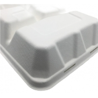 Buy cheap Microwavable 23×22×5cm 45g Biodegradable Takeout Containers from wholesalers