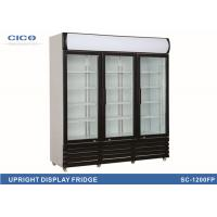 Buy cheap Large Upright Display Refrigerator , Upright Glass Door Display Freezer from wholesalers
