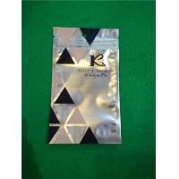 Buy cheap Al Foil Bottom Sealed Plastic Ziplock Bags , Makeup Powder Puff Packing Bags from wholesalers