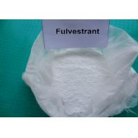 Buy cheap Fulvestrant Injection For Breast Cancer / Natural Anti Estrogen Supplements from wholesalers