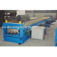 Buy cheap Color Steel Plate Floor Deck Roof Panel Roll Forming Machine 1500mm PLC Control from wholesalers