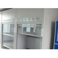 Buy cheap Vibartion XYZ Direct ≤4μm Walk In Fume Cupboard , Long Lifetime Laboratory Fume Cupboards from wholesalers