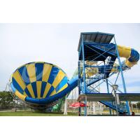 Buy cheap Giant Outside Fiberglass Water Slides for adults , 14.6m Platform Height in Themed Water Park product