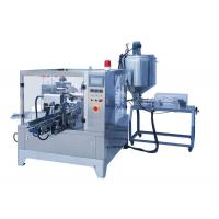 Buy cheap Beverage Rotary Pouch Packing Machine For Paste Liquid Easy To Operate from wholesalers