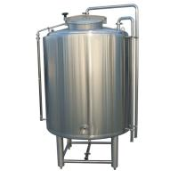 Buy cheap ISO / CE 1000L Large Fermentation Tanks SS304 Fabrication 2MM Thickness Steam Heating from wholesalers