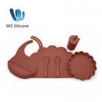Buy cheap Non Toxic BPA PVC Free Baby Feeding Set 100% Silicone Bib from wholesalers