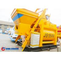 China Automatic Concrete Mixer Machine Bucket Feeding Industrial High Efficiency on sale
