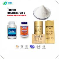 Buy cheap Organic Food additive Taurine  CAS 107-35-7 Nutrition Enhancer from wholesalers