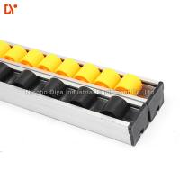 Buy cheap Flow Rail Roller Track Conveyor , PP / ABS Gravity Roller Track 28mm x 25mm from wholesalers