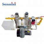 Buy cheap Semi automatic Aluminium wheel powder coating application powder spraying line gas burner from wholesalers