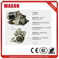 Buy cheap Light Weight Hitachi Starter Motor 0-24000-3041 0240003041 Part Number from wholesalers