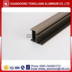 Buy cheap Factory manufacturer Ghana anodized bronze window door aluminium profile, aluminum profile supplier from wholesalers