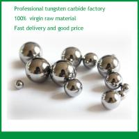 Buy cheap Original manufacturer of hard metal tungsten carbide ball supplied in diameter of 2mm, 4mm, 5mm, 8mm, 10mm from wholesalers