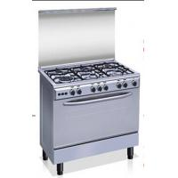 Buy cheap Free standing gas stove, with oven, six burners from wholesalers