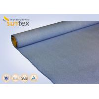 Buy cheap 33 OZ Blue Calcium High Temperature Fiberglass Cloth For Fire Door And Smoke Curtain from wholesalers