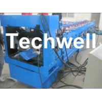 Buy cheap Color Steel Hat Cap Roll Forming Machine For Metal Roof RidgeTile from wholesalers
