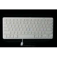 Buy cheap Plastic + ABS Wired keyboard designed for IPad 8 pin connector tablet product