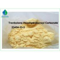 Buy cheap Parabolan Raw Trenbolone Steroids powder Trenbolone Hexahydrobenzyl Carbonate 23454-33-3 from wholesalers